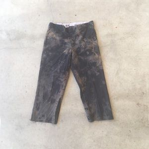 Rust cropped dickies pant